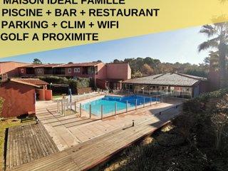 Maison Idéal Famille,Piscine,Restaurant,Wifi,Parking