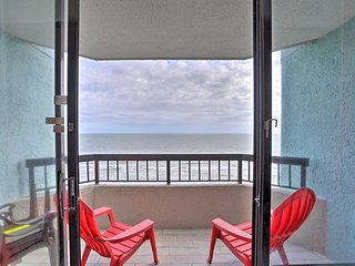 NEW! Oceanfront Myrtle Beach Oasis, Steps to Beach
