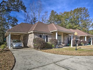 NEW! Tammany Trace Home: Outdoor Fanatics Welcome!