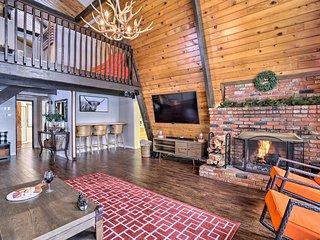 NEW! Winter Lodge: Ski/Board Snow Valley Mtn 7 Mi!