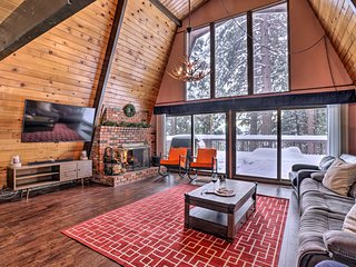 NEW! Winter Lodge: Ski/Board Snow Valley Mtn 7 Mi!