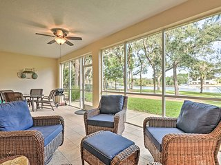 Riverfront Palm Coast Getaway w/ Resort Amenities!