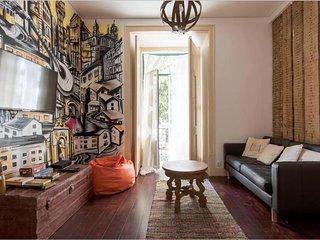 ❤LD Apartments-Amazing Location-Alfama-Artistic Home