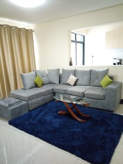 With a master en suit,enjoy your stay at our two bedroom apartment at Kileleshwa