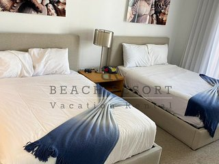 Beachwalk Studio Apartment, Hallandale beach, Beach Resort Rental.