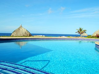 Bahia at the Strand Resort Curacao, walk onto the beach from your terrace!