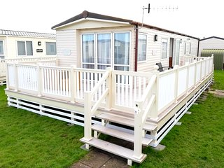 8 berth (3 Bed)Caravan on West Sands Bunn Leisure