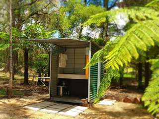 A Great Place - Glamping in a fern tree gully