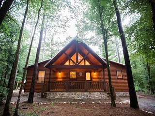 Creekside Tango Cabin; 3 Br, 3 Bth; Pool Table; Hot Tub; 2 Fireplaces