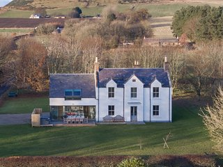 Greenmyre Farmhouse near Kirriemuir in Angus