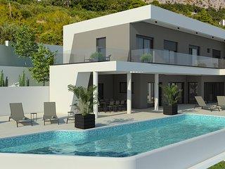 NEW! Luxurious Villa ADA with hot tub, sauna, gym, infinity pool, sea views!