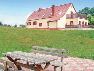 Nice home in Nowe Worowo w/ Sauna, WiFi and 5 Bedrooms (PKA109)