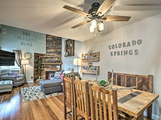 NEW! Modern S. Colorado Springs Townhome w/Balcony