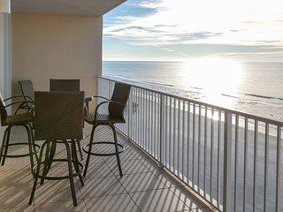 Beachfront condo w/ multiple community pools, a sun deck, & fitness center!