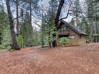 Cozy home in a forested setting w/ private hot tub - near year-round activities