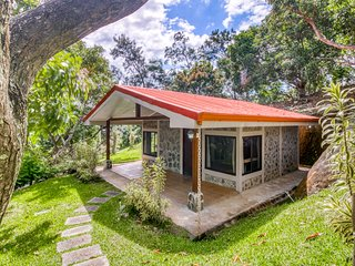 Relaxing cabin, in beautiful property with amazing gardens and shared pool
