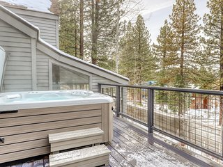 Modern Northstar home w/ private hot tub, valley views, and Nintendo Wii.