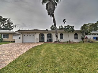NEW! Canal-Front Home ~13 Miles to Madeira Beach!