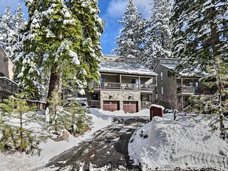 NEW! Incline Village Getaway, 1 Mile to Ski Lifts!