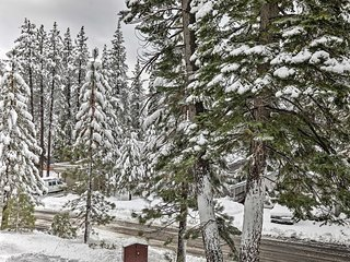 NEW! Cozy Lake Tahoe Getaway 1 Mile from Ski Lifts