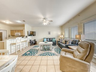 Family-friendly seaside escape w/ shared pool & easy beach access!