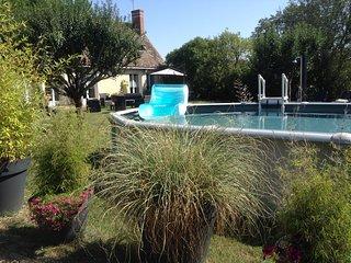 Gite climatisé avec piscine  La Motte ' Ferme royale' 6 personnes