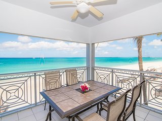 OCEANFRONT LUXURY RENTAL REGAL BEACH CLUB UNIT 121 CAYMAN ISLANDS