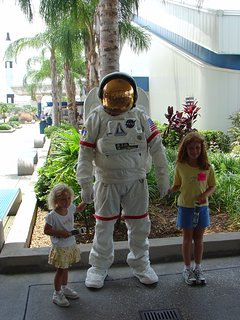 Cape Canaveral is just south