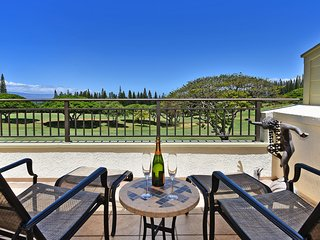 Luxury Suite on Kapalua Golf Course with Golf/Ocean/Mountain Views-KGV 16T1