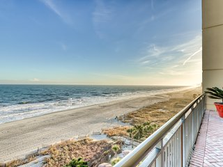 Family-friendly, oceanfront condo w/shared pools, hot tubs, game room, & more!