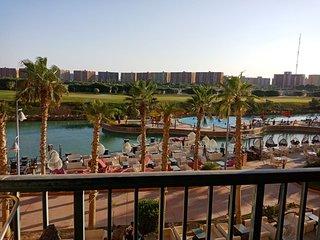Amazing view golf porto marina apartment nearby hotel on mashaya