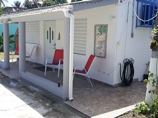 Beach studio house completely remodeled at Campamento Pinones