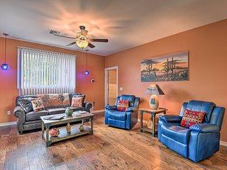 NEW! Updated Sonoran Sanctuary Garden Home w/ Yard