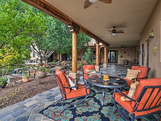 Sonoran Sanctuary Garden Home w/ Shared Backyard!