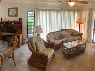 Large Two-Bedroom Condo at Only Resort on Island with a Jacuzzi! Great price!