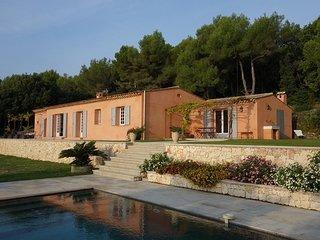 Magnifique villa provencale avec vue mer panoramique calme et sans vis-a-vis