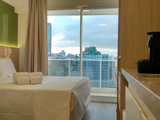 360 Suites Downtown Sé - Apartamento Superior 4