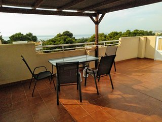 AZ01- 2 Bed Apt in San Gines, La Azhoia, Roof Terrace, Close to beach