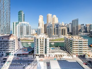 Premier & Elegant 1BR in the Heart of Dubai Marina