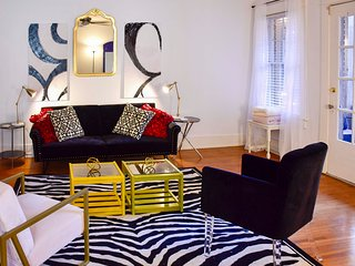 NEW! Modern Eclectic Condo 5 Minutes from Downtown