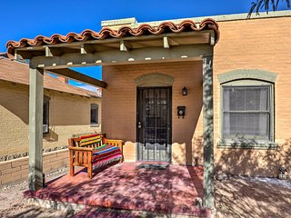 NEW! Classic Southwest Casita, Walk to U of A!