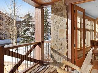 Ski-in/out condo w/ jetted tub, mtn views, shared hot tub & gym - dog-friendly!