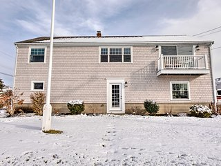 NEW! Bourne Home w/Deck, Steps From Cape Cod Canal
