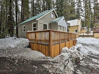 NEW! Mountain Cabin w/ Deck, < 1 Mi to Ski Resort!