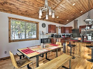 NEW! Luxurious Mountain Getaway - Fish, Hike, Ski!