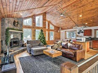 NEW! Luxurious Mountain Getaway - Fish, Hike, Ski!