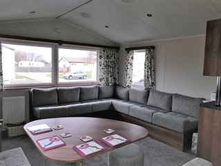 Private Let - Comfortable Caravan on New Beach Holiday Park, Quiet Location