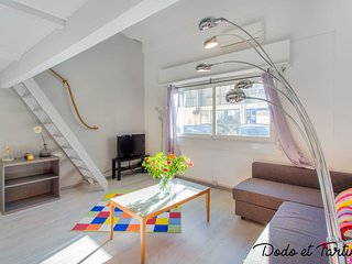 Cocooning one bedroom with mezzanine & air-conditioned - Dodo et Tartine