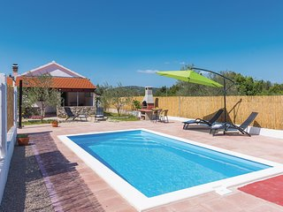 Stunning home in Bilice w/ WiFi, 1 Bedrooms and Outdoor swimming pool (CDJ641)