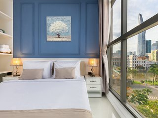 Up the Luxury Level at a Classic Abode Pool & Gym  - Blue Fingers Saigon Royal